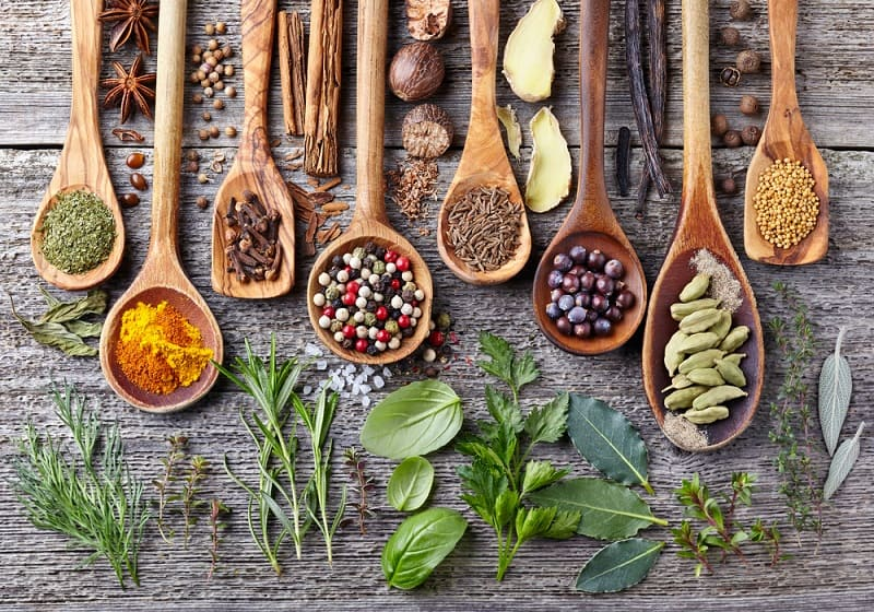 Sweeteners, Spices, and Herbs
