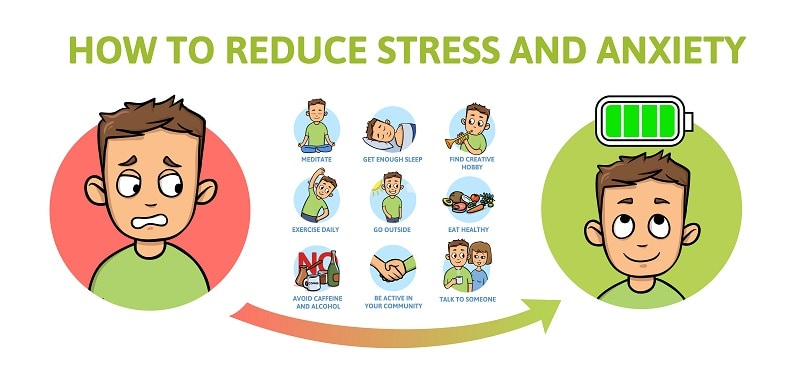 how to reduce stree and anxiety