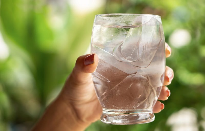 drink water to make yourself cool