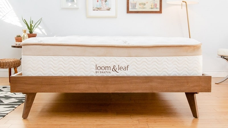 Best Hybrid Mattresses loom-and-leaf