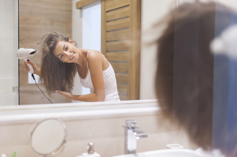 Dry Your Hair Before Bedtime