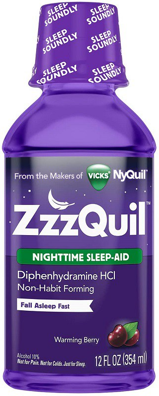 Zzzquil Nighttime Sleep Liquid