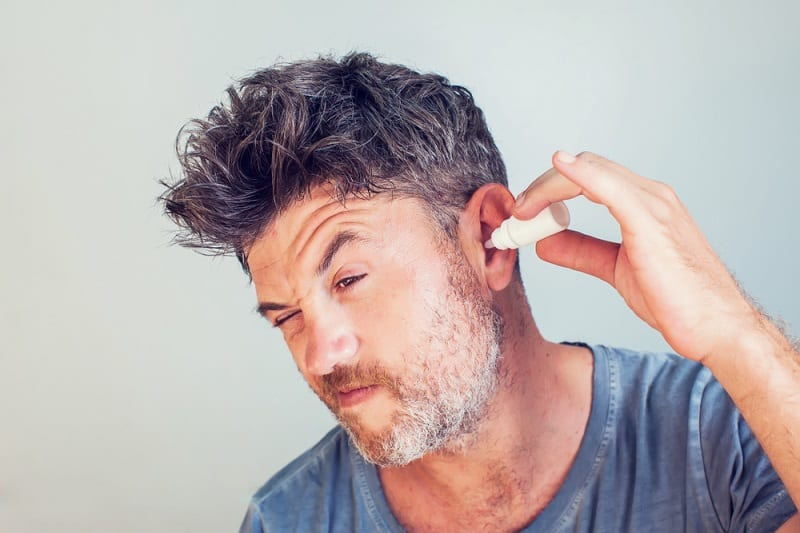 How to Sleep with an Ear Infection drop