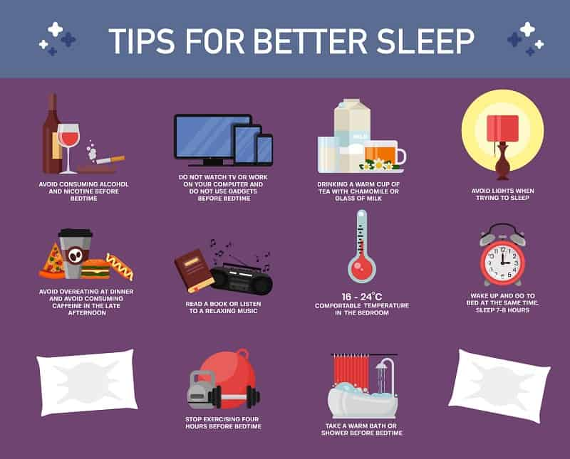 Should You Drink Milk Before Bed tips