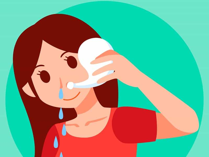 Increase Oxygen Levels While Sleeping rinse nose