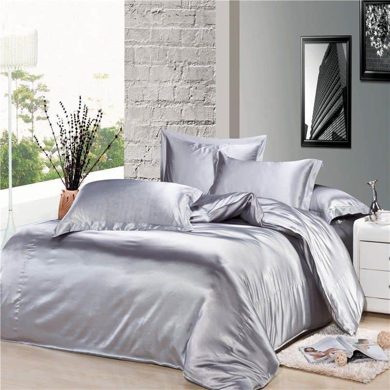 Silk or Satin Bedding