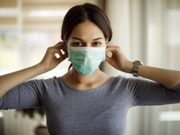 surgical mask with Face Brackets