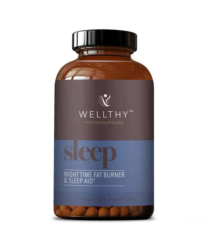 Wellthy Nutraceuticals Night Time Fat Burner & Sleep Aid